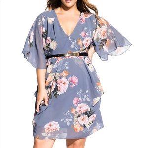 City Chic Plus Dress 20 22